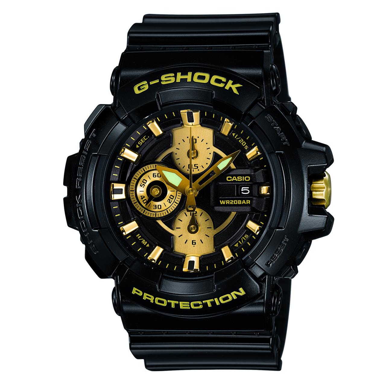 ساعت مچی عقربه ای مردانه کاسیو جی شاک مدل GAC-100BR-1ADR