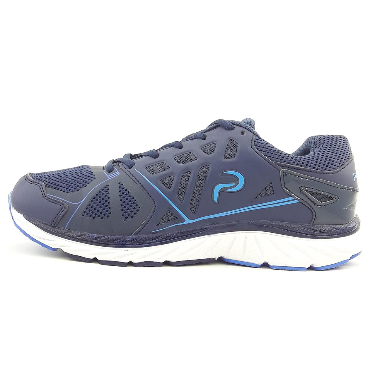 کفش مخصوص دویدن مردانه پادوز مدل Victoria nvy-blu01
