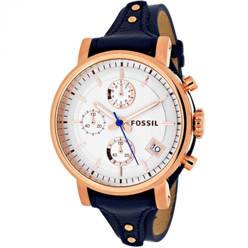 ساعت مچی عقربه ای زنانه فسیل مدل ES3838