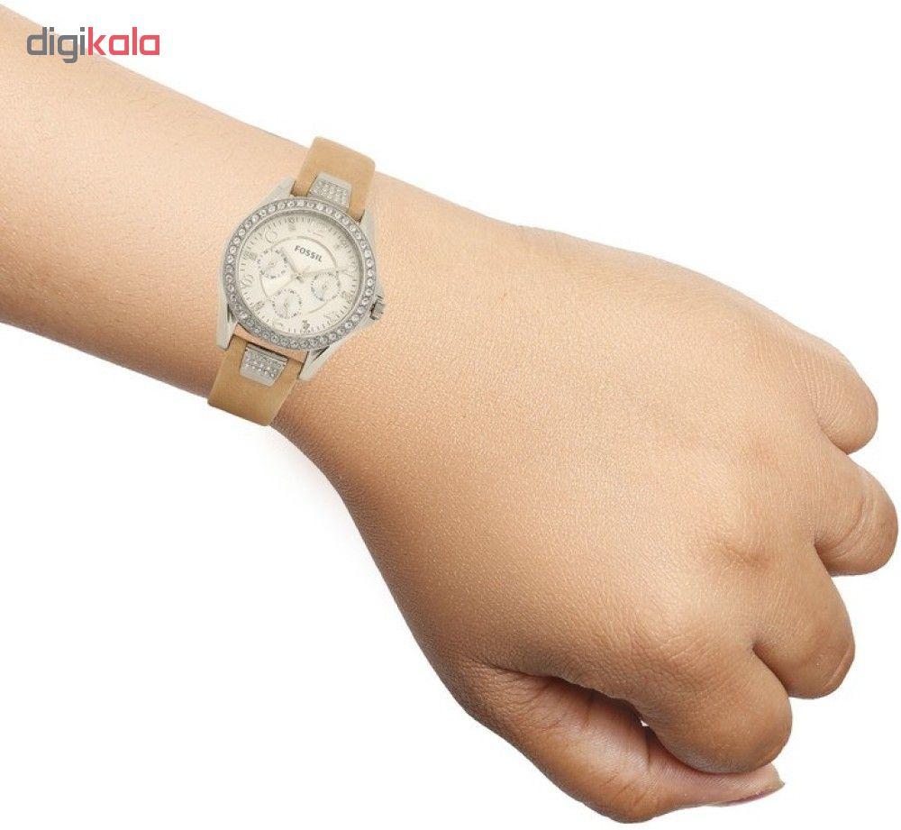 ساعت مچی عقربه ای زنانه فسیل مدل ES3889