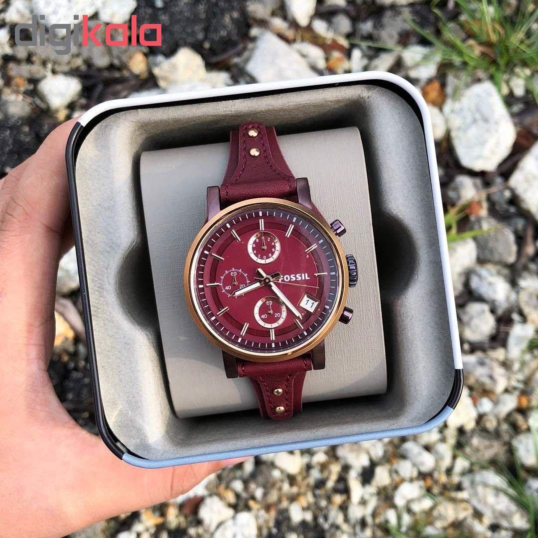 ساعت مچی عقربه ای زنانه فسیل مدل ES4114
