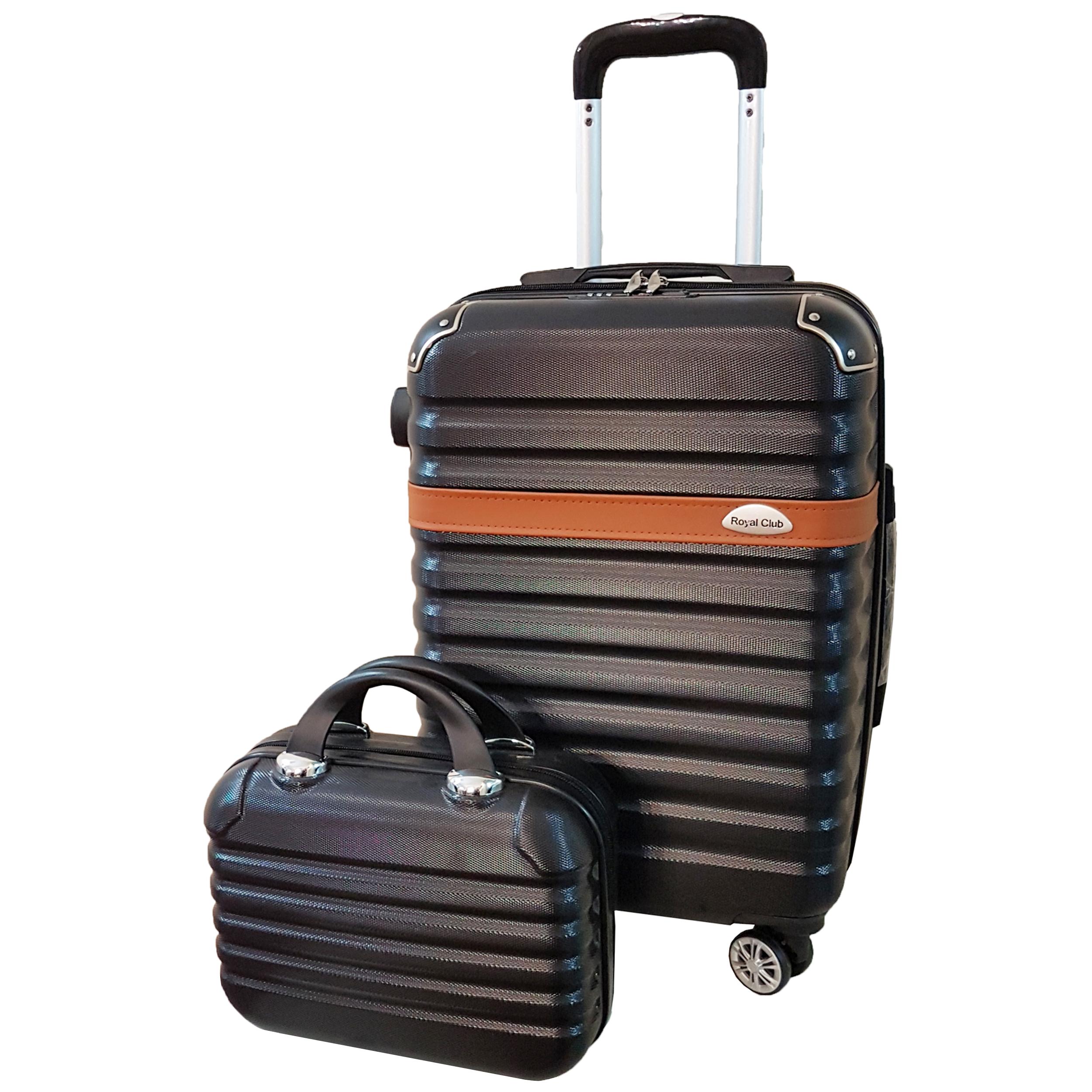 مجموعه 2 عددی چمدان رویال کلاب سایز s مدل kh200  