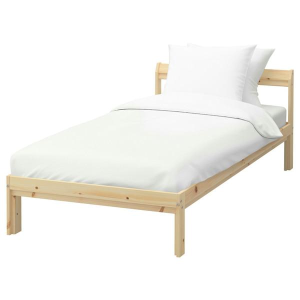 تخت خواب یک نفره ایکیا  مدل نیدن
