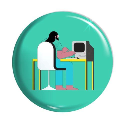 پیکسل اسانا طرح کامپیوتر ادم لپ تاب  کد ASA082