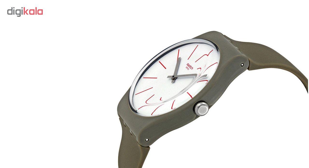 ساعت مچی عقربه ای  مردانه سواچ مدل SUOC107