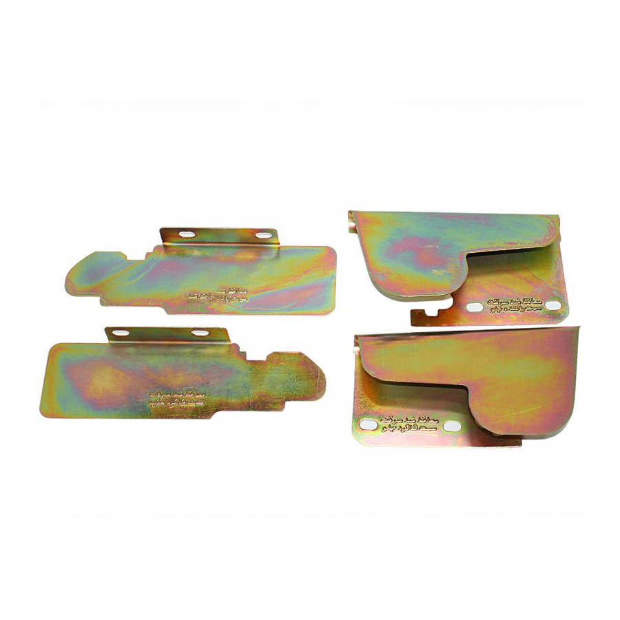 محافظ ضد سرقت درب خودرو ایمن صنعت کد23 مناسب برای پراید بسته 4عددی