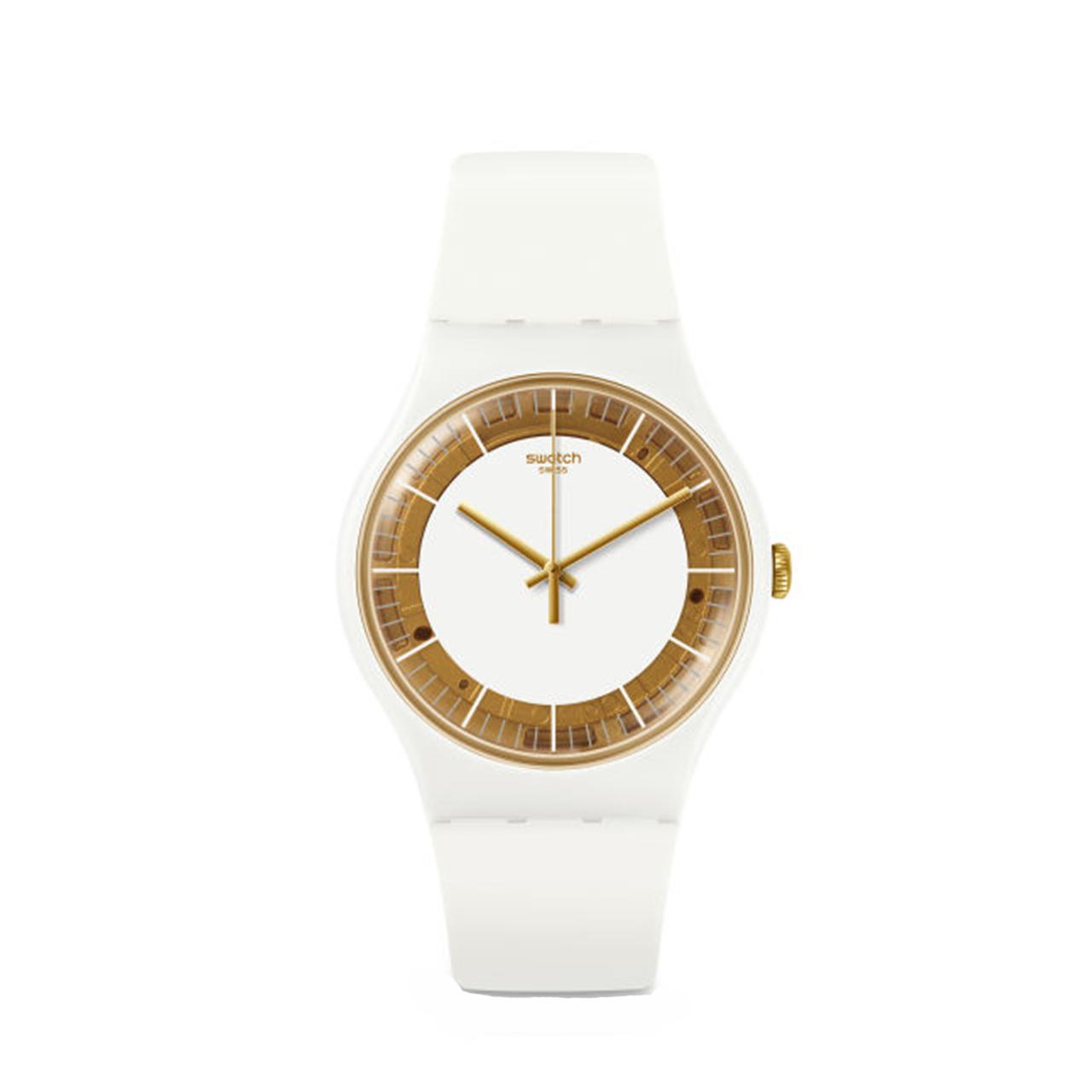 ساعت مچی عقربه ای زنانه  سواچ مدل SUOW158