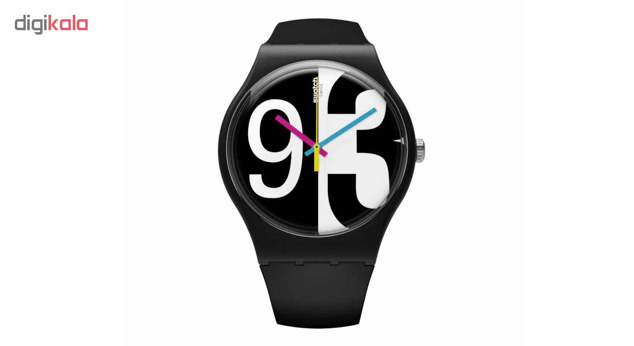 ساعت مچی عقربه ای  مردانه سواچ مدل SUOB141 -  - 3