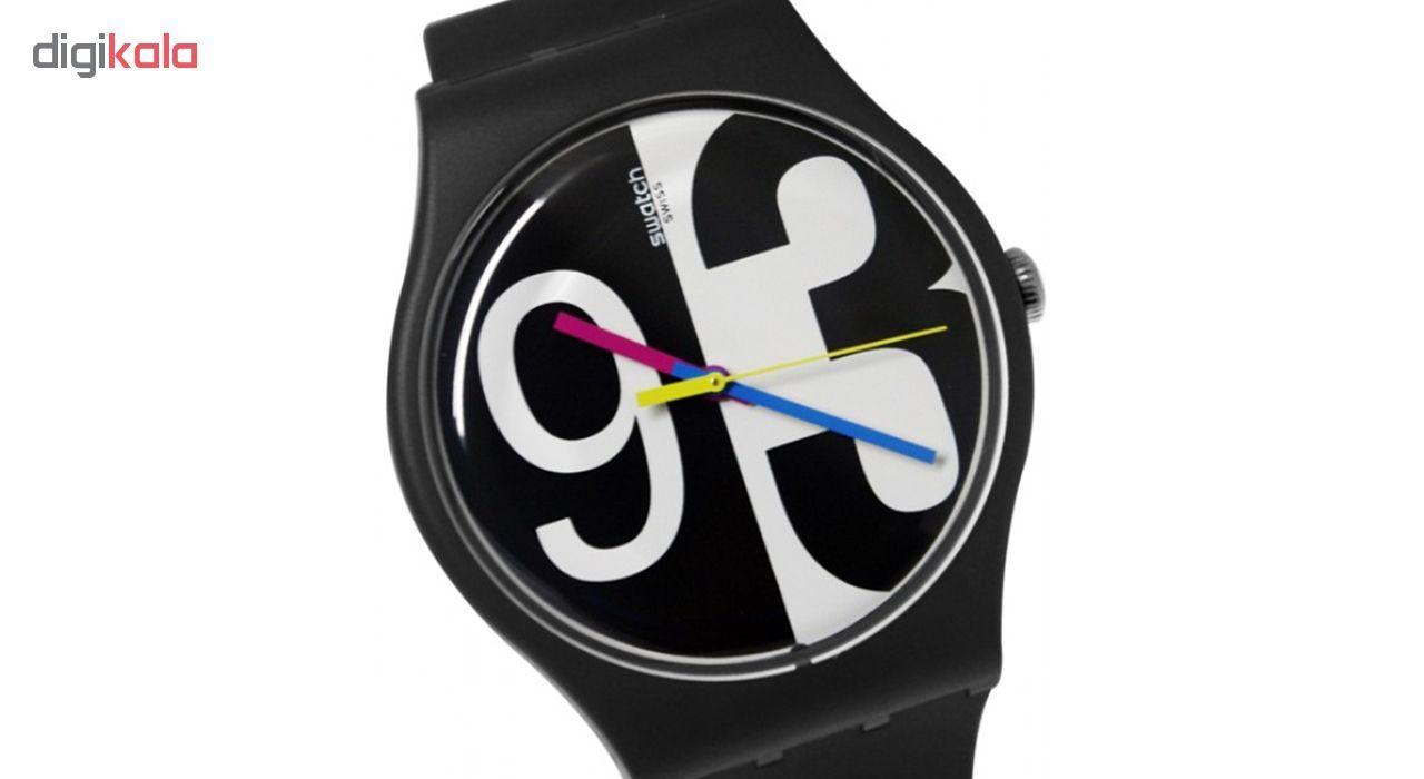 ساعت مچی عقربه ای  مردانه سواچ مدل SUOB141 -  - 4