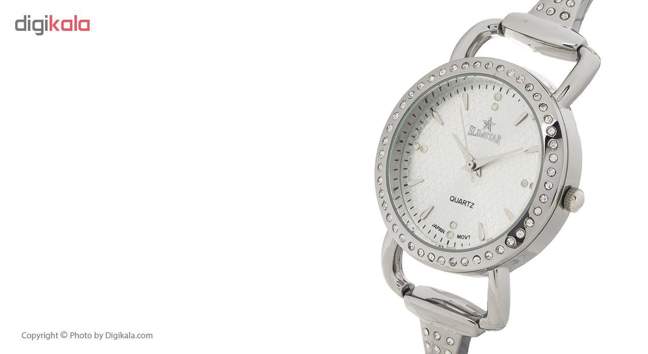 ساعت مچی عقربه ای زنانه اسلیم استار مدل A21