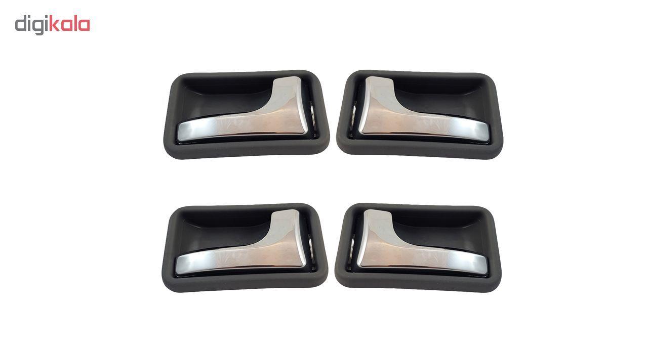 دستگیره داخلی درب خودرو مدل Galleria-PEr04 مناسب برای پراید بسته 4 عددی main 1 1