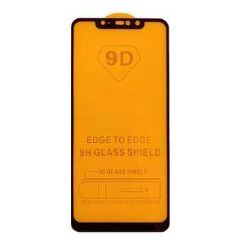 محافظ صفحه نمایش 9d مدل h-9 مناسب برای گوشی موبایل شیائومی Redmi Note 6 Pro