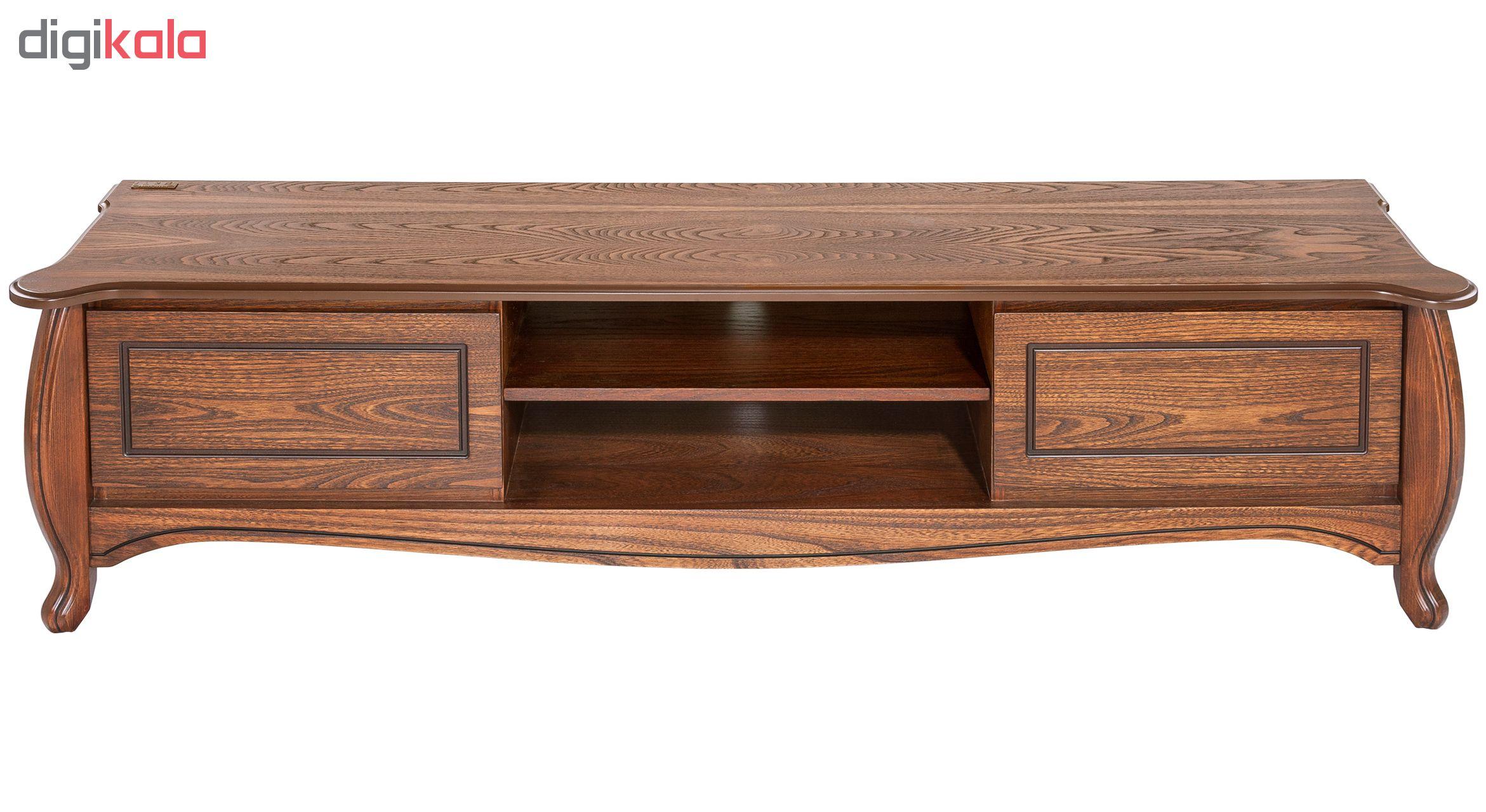 خرید اینترنتی میز تلویزیون آیلکس مدل R20-WALNUT-200 اورجینال