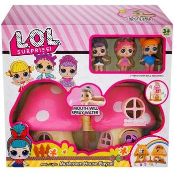 خانه عروسکی ال او ال سورپرایز مدل Mushroom House Playset |