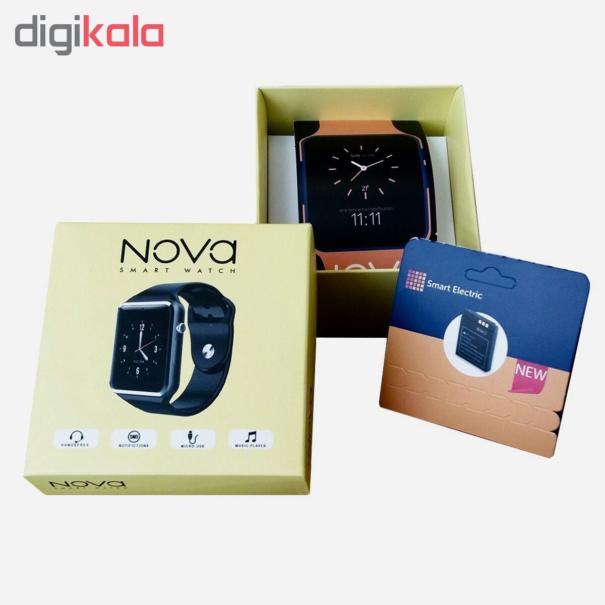 ساعت هوشمند نوا مدل A1 به همراه باتری اضافه اسمارت الکتریک main 1 1
