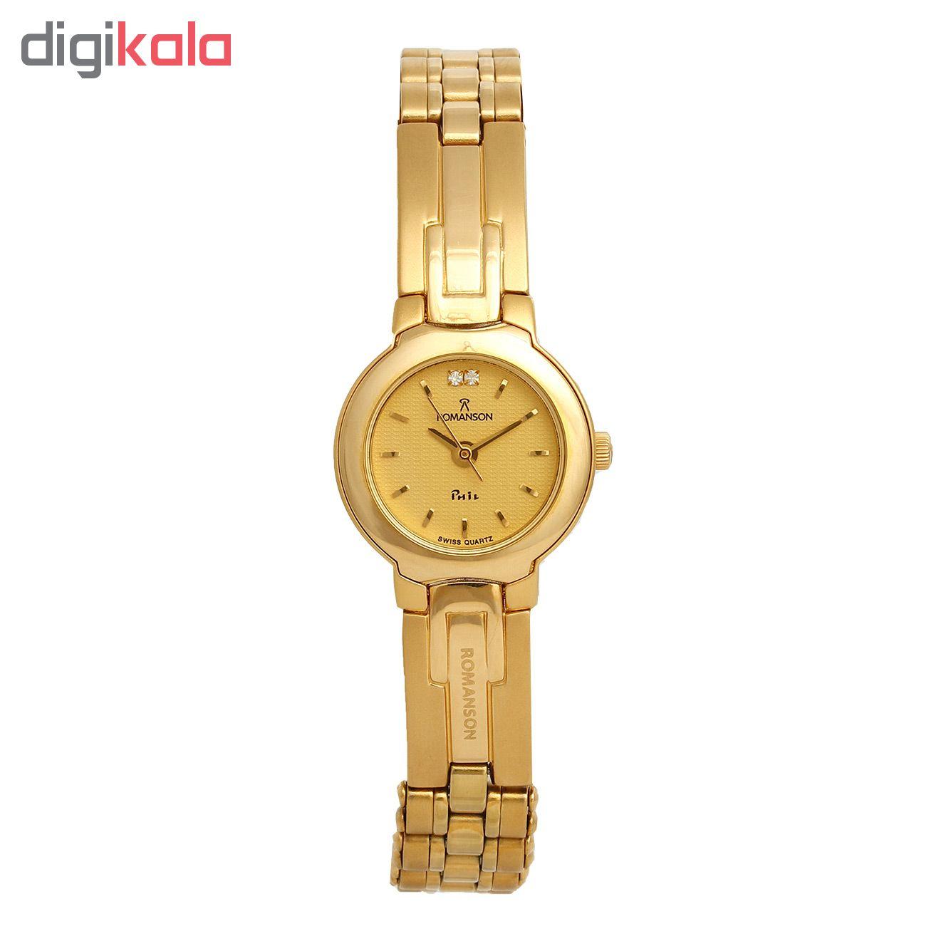 ساعت مچی عقربه ای زنانه رومانسون مدل NM0550LL1GA51G