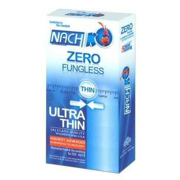 کاندوم ناچ کدکس مدل Zero Fungless بسته 12 عددی