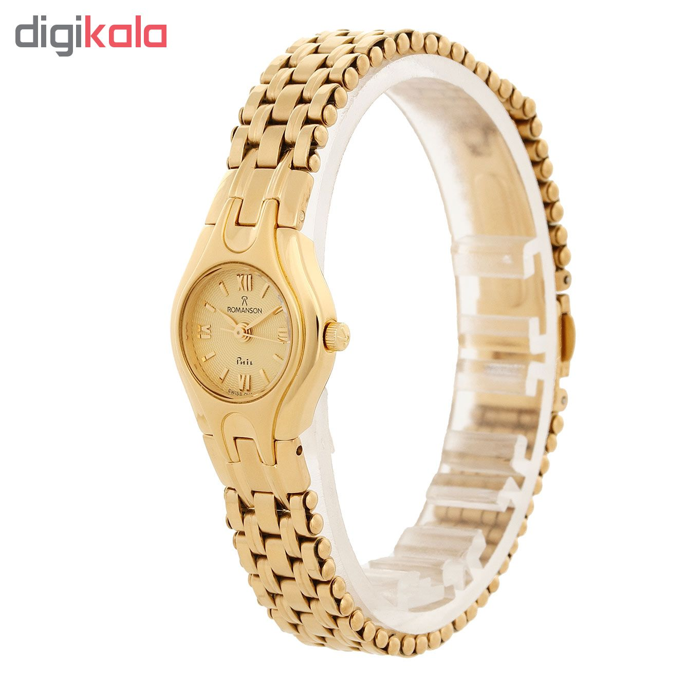 ساعت مچی عقربه ای زنانه رومانسون مدل NM4507LL1GA81G