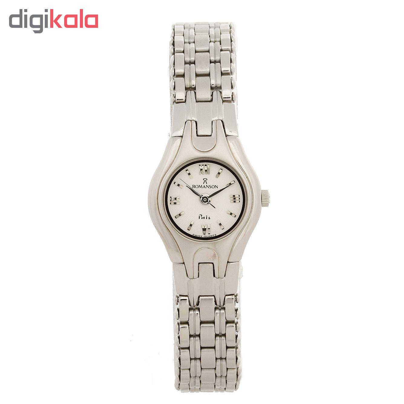 ساعت مچی عقربه ای زنانه رومانسون مدل NM4507LL1WAS2W              خرید (⭐️⭐️⭐️)