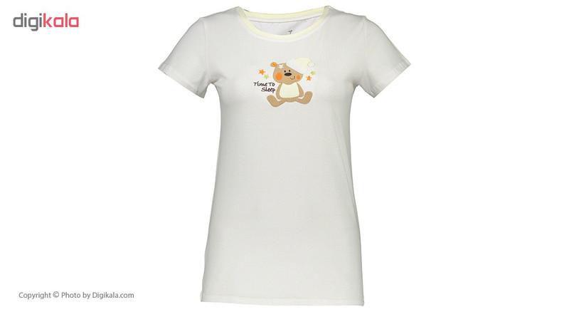ست تی شرت و شلوار راحتی زنانه ناربن مدل 1521137-19