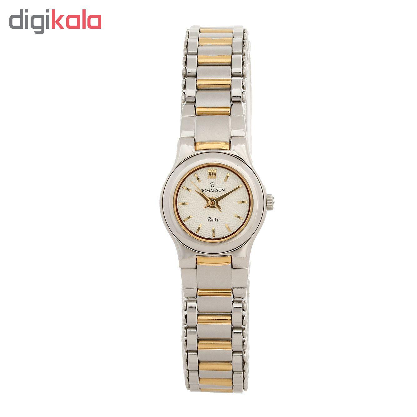 ساعت مچی عقربه ای زنانه رومانسون مدل NM4510LL1CAS1G