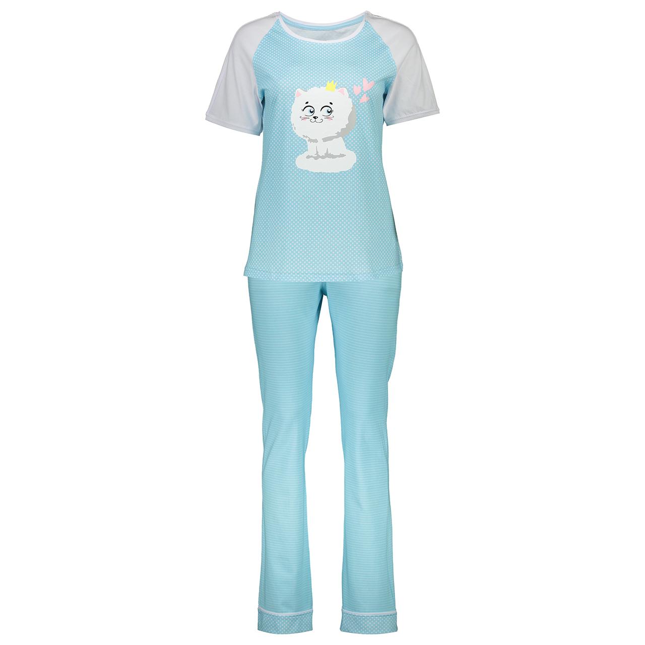 ست تی شرت و شلوار راحتی زنانه ناربن مدل 1521170-50