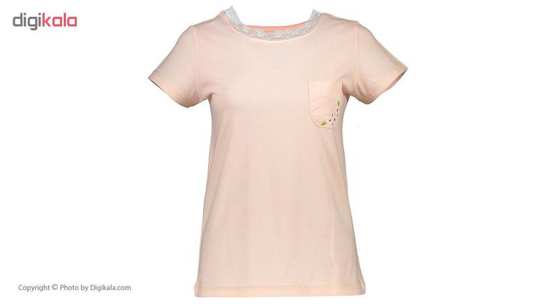 ست تی شرت و شلوار راحتی زنانه ناربن مدل 1521145-80