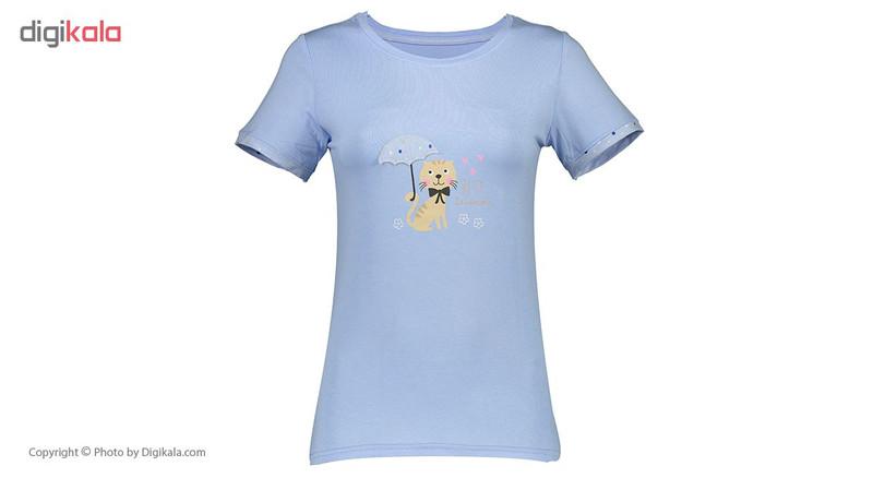 ست تی شرت و شلوار راحتی زنانه ناربن مدل 1521142-58