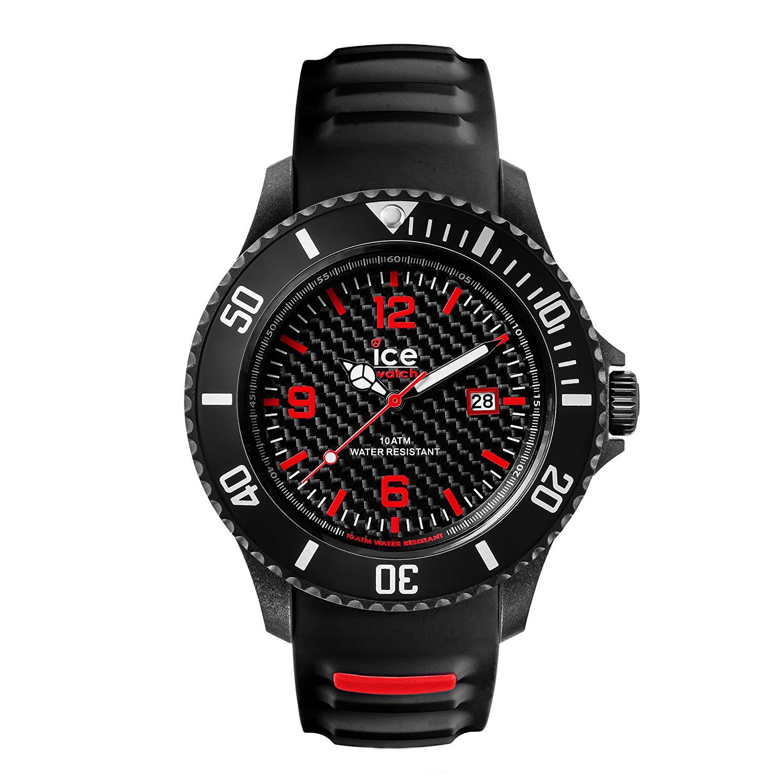 ساعت مچی عقربه ای مردانه آیس واچ مدل Ca.3h.bk.b.s.15