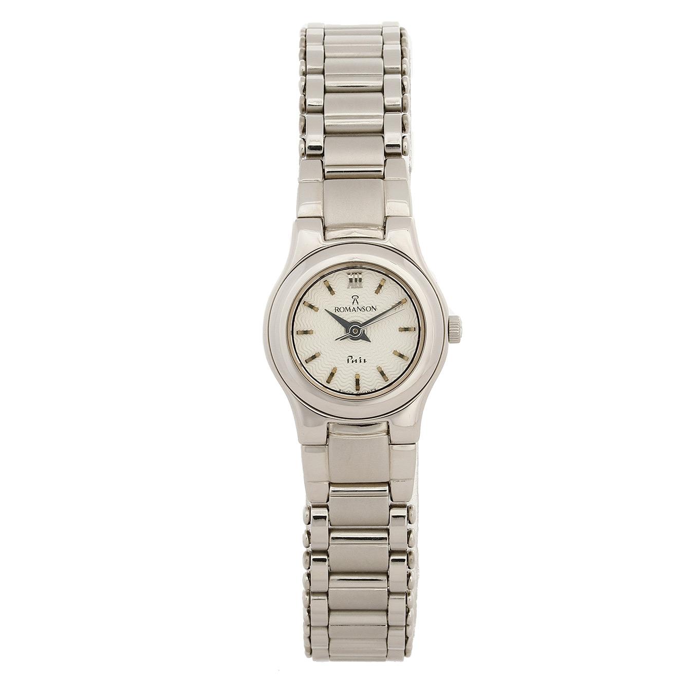 ساعت مچی عقربه ای زنانه رومانسون مدل NM4510LL1WAS2W 40