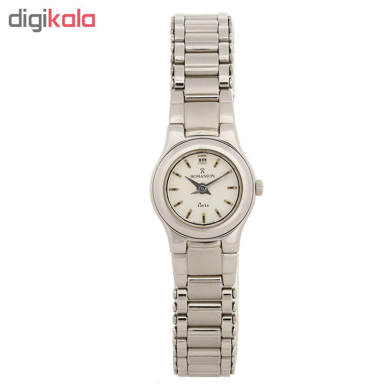 ساعت  زنانه رومانسون مدل NM4510LL1WAS2W