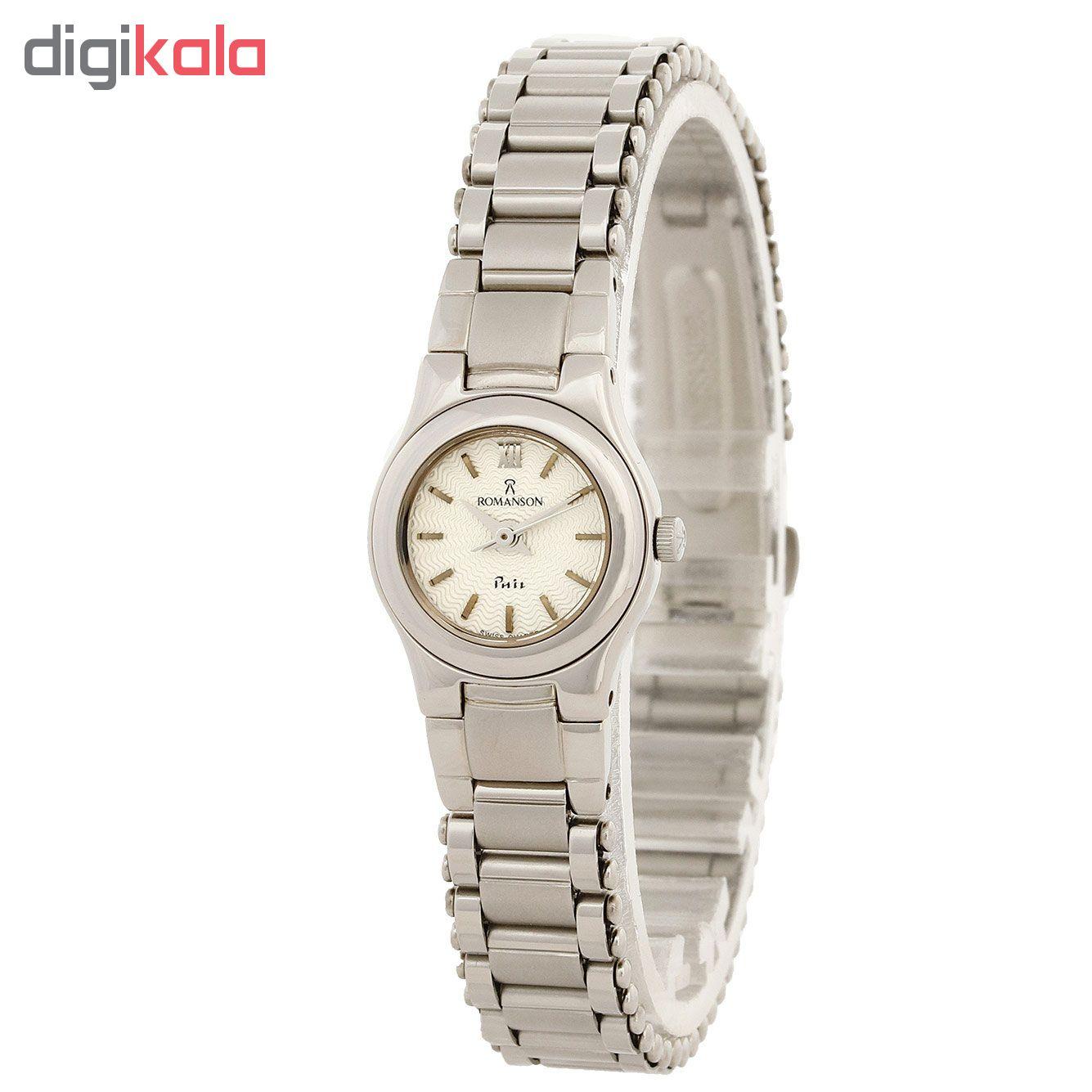 ساعت مچی عقربه ای زنانه رومانسون مدل NM4510LL1WAS2W              خرید (⭐️⭐️⭐️)