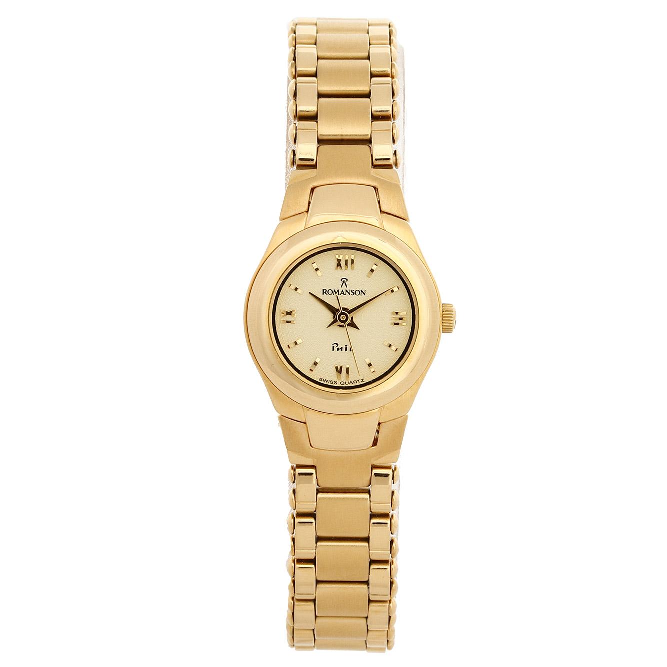 ساعت مچی عقربه ای زنانه رومانسون مدل NM4514LL1GA81G