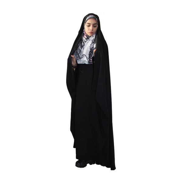 چادر حسنا نگین دار حریرالسود حجاب حدیث کد 146