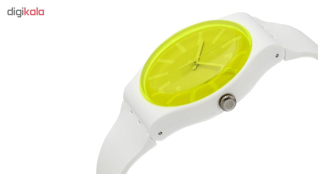 ساعت مچی عقربه ای زنانه سواچ مدل SUOW165