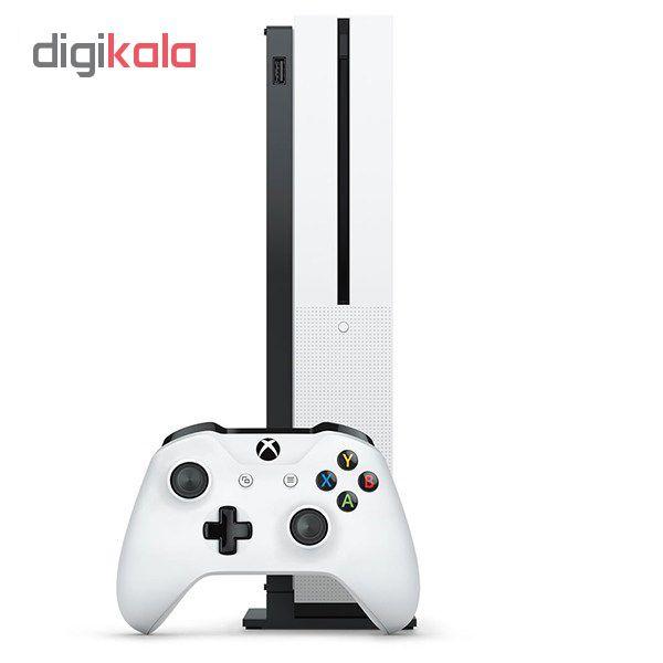 کنسول بازی مایکروسافت مدل Xbox One S ظرفیت 1 ترابایت به همراه کارت نصب 20 عدد بازی