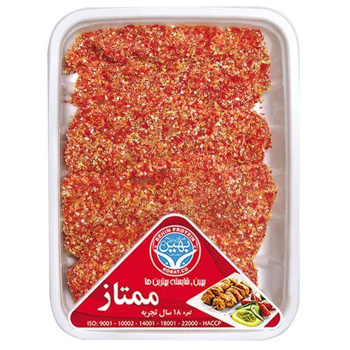 شنیسل با آرد بهین پروتئین مقدار 0.9 کیلو گرم