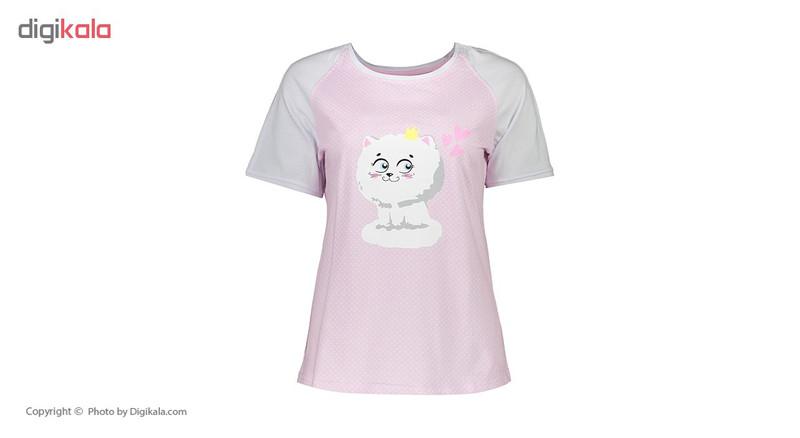 ست تی شرت و شلوار راحتی زنانه ناربن مدل 1521170-84
