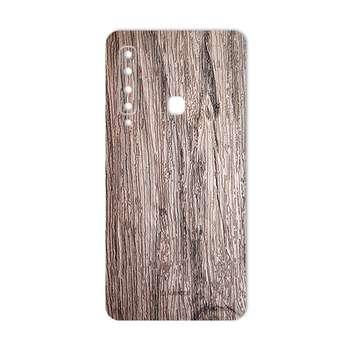 برچسب پوششی ماهوت طرح  Walnut-Texture مناسب برای گوشی سامسونگ A9 2018
