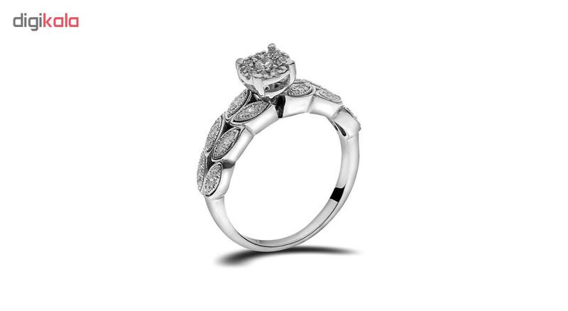 انگشتر طلا 18 عیار جواهری سون مدل 2287