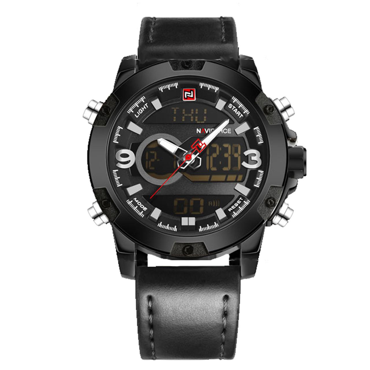 ساعت مچی عقربه ای مردانه نیوی فورس مدل NF9097M/BBB