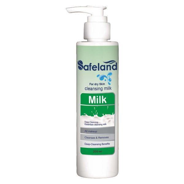 شیر پاک کن سیفلند مدل Dry Skin حجم ۲۰۰ میلی لیتر