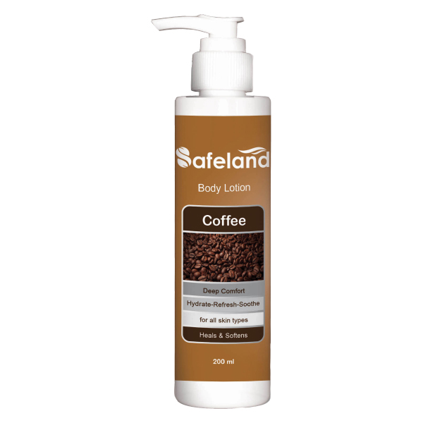 عکس لوسیون بدن سیفلند مدل Coffee حجم ۲۰۰ میلی لیتر