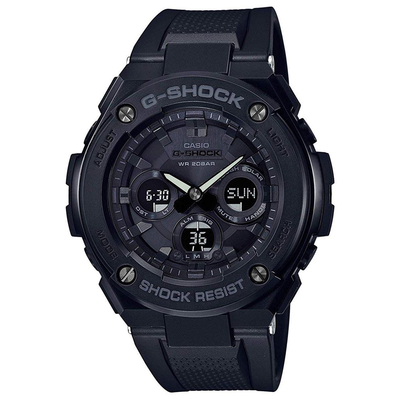 ساعت مچی عقربه ای مردانه کاسیو مدل GST-S300G-1A1DR