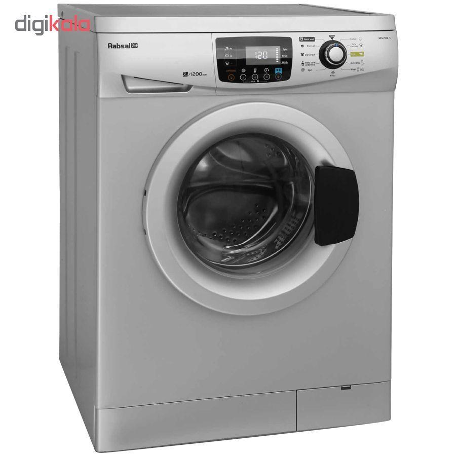ماشین لباسشویی آبسال مدل REN7012 ظرفیت 7 کیلوگرم main 1 2