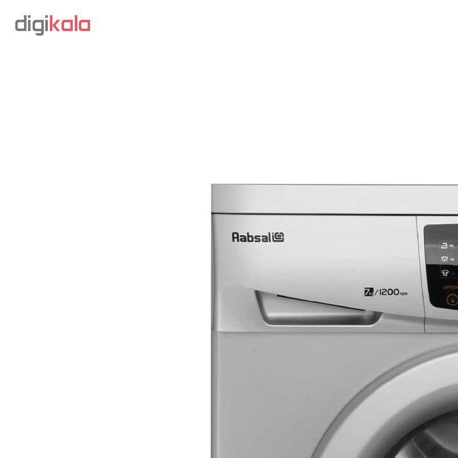 ماشین لباسشویی آبسال مدل REN7012 ظرفیت 7 کیلوگرم main 1 3