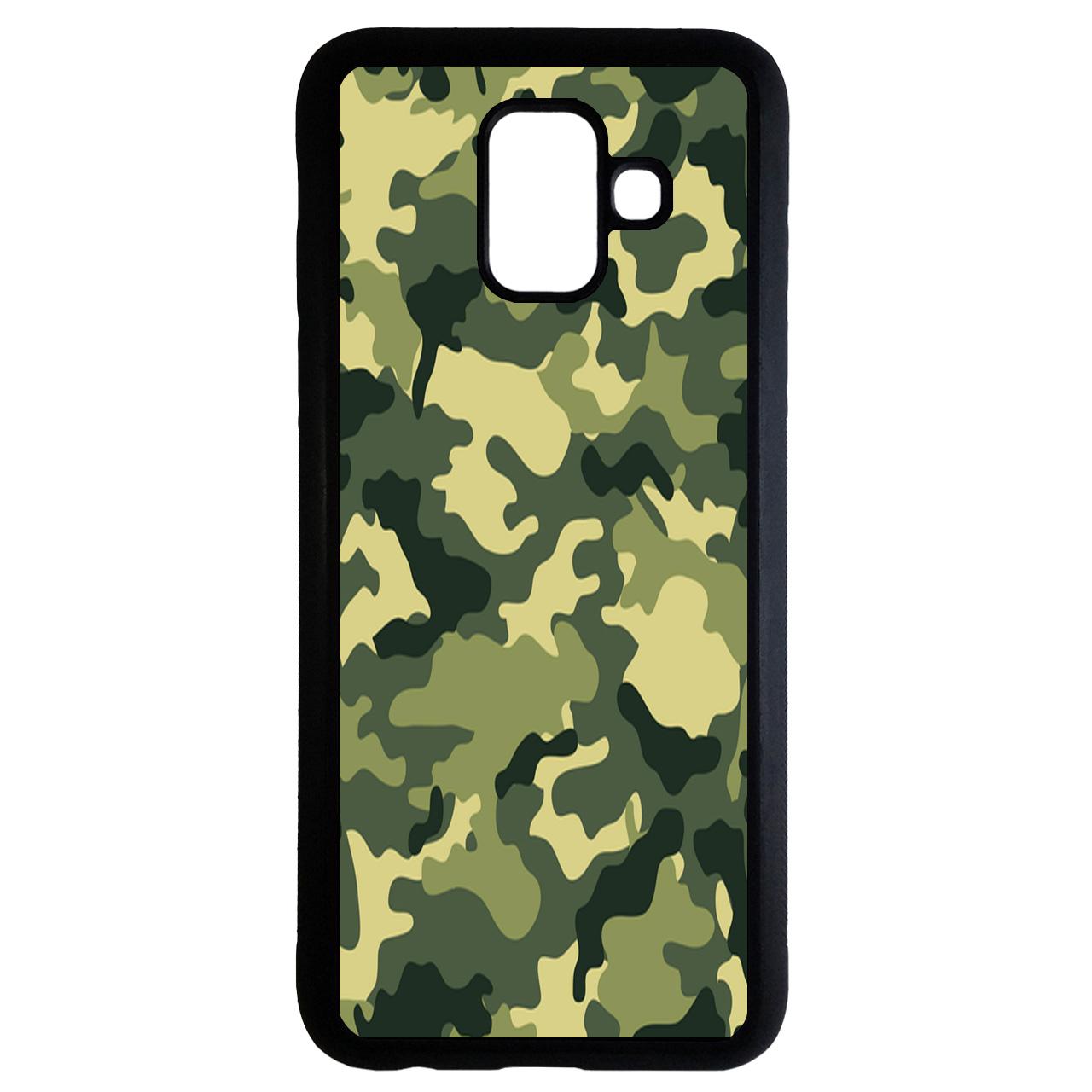 کاور طرح چریکی کد 6714 مناسب برای گوشی موبایل سامسونگ Galaxy a8 plus 2018