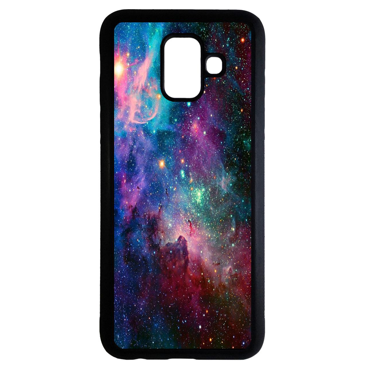 کاور طرح فضایی کد 6716 مناسب برای گوشی موبایل سامسونگ Galaxy a8 plus 2018
