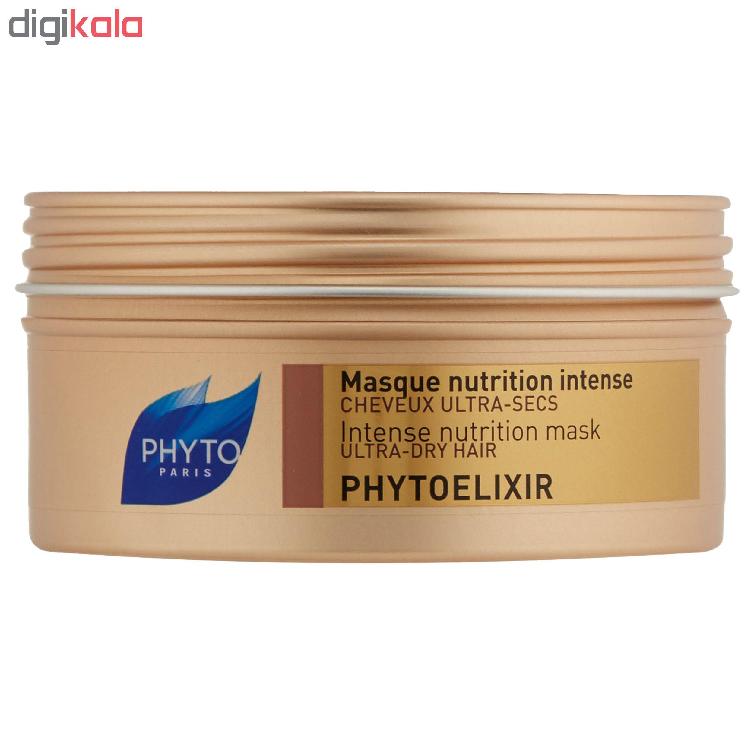 ماسک مو فیتو مدل Phytoelixir حجم ۲۰۰ میلی لیتر