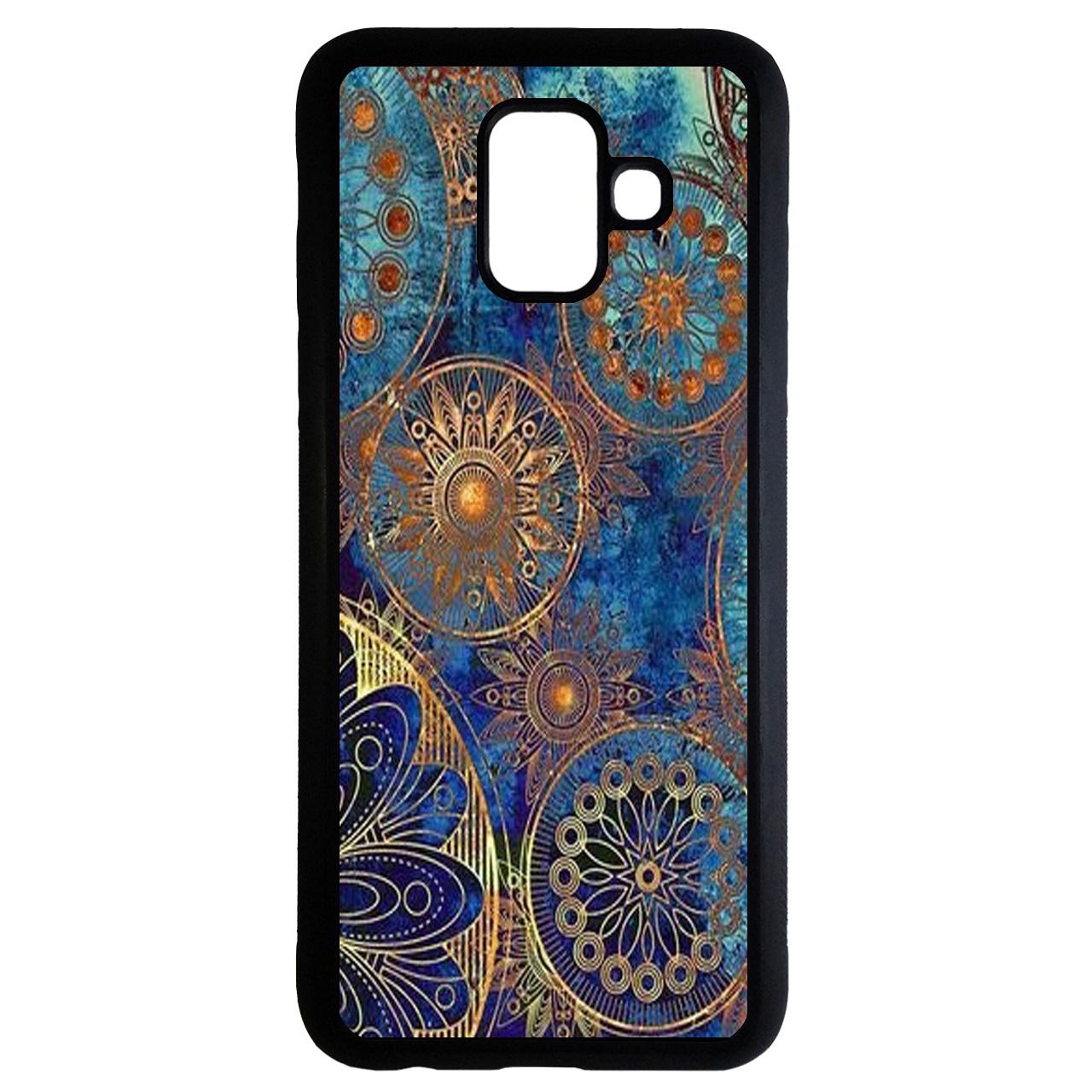کاور طرح سنتی کد 6741 مناسب برای گوشی موبایل سامسونگ Galaxy a8 plus 2018